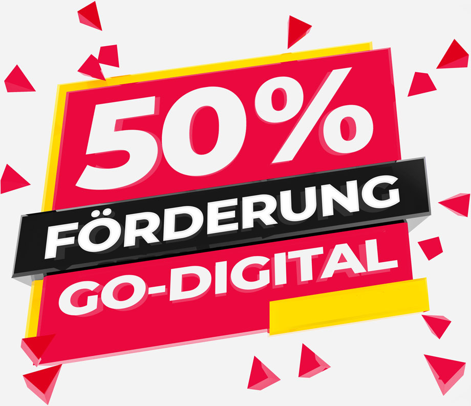 50% Förderung – Go-Digital