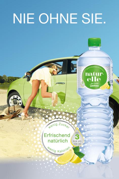 naturelle – Natürliches Mineralwasser plus Zitrone von Carolinen