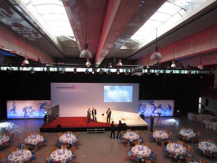 Livemarketing – Öffentliche Jahrestagung – Das Öffentliche Sportstudio - Saal