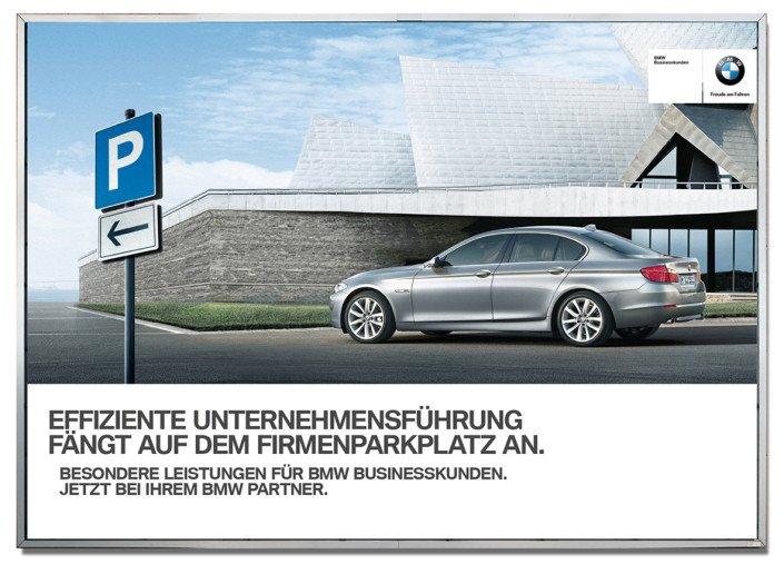 BMW – Großfläche – Effiziente Unternehmensführung