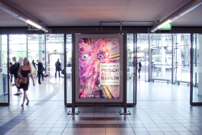 FRISCH aus Berlin Werbeplakat Kunst