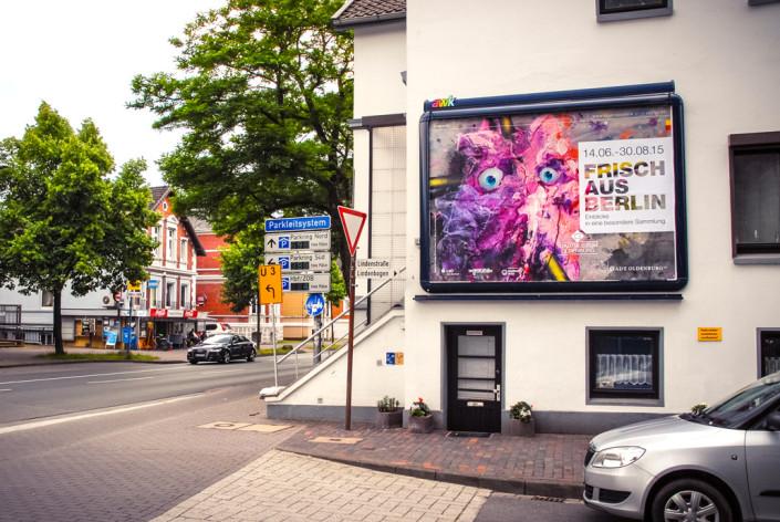 Plakat FRISCH aus Berlin Stadtmuseum Werbung
