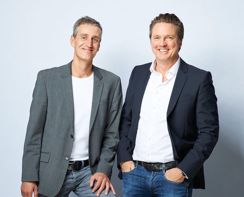 Ingo Steuber und Heiko Ciesla, Geschaeftsführer bei Frese & Wolff