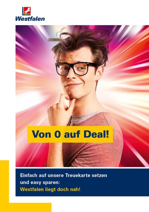 Werbekampagne Westfalen Treuekarte
