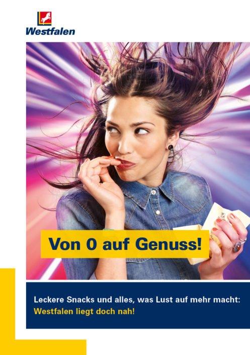 Werbekampagne Westfalen