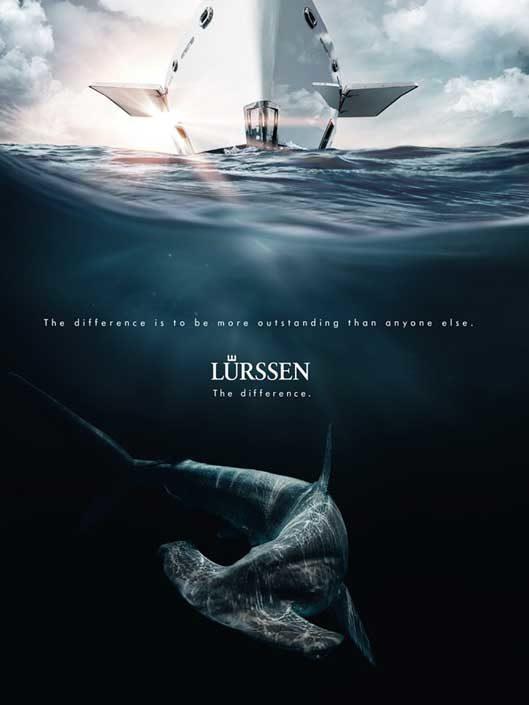 "Lürssen Luxusyachten – Kampagne ""The Difference"""