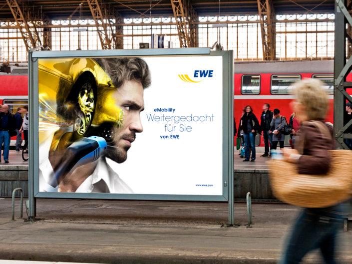 Frese & Wolff – EWE eMobility – Großfläche