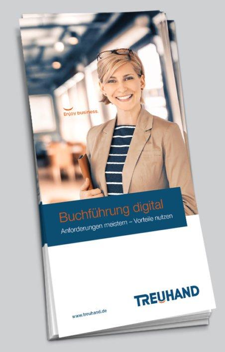 Treuhand Infoflyer Buchführung digital