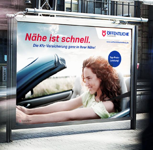 Klassische Werbung - Out of Home - Großfläche