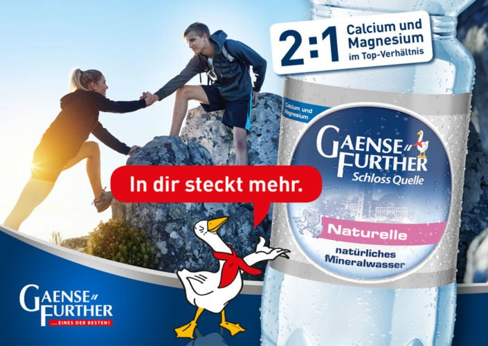 Gaensefurther Markenrelaunch – Kampagne Wanderer