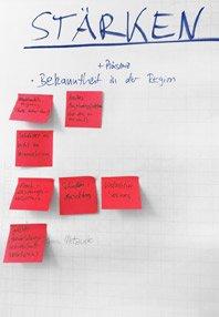 Markenstrategie Workshop – Öffentliche Versicherung – Stärken