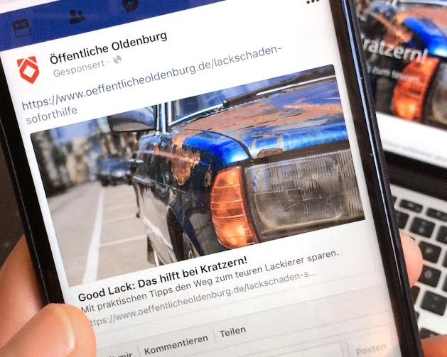 Facebook Post – Content Marketing - Öffentliche Versicherungen Oldenburg