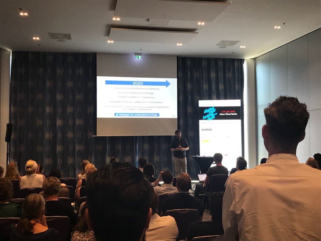 DIGITAL MARKETING DAYS - BERLIN 2018