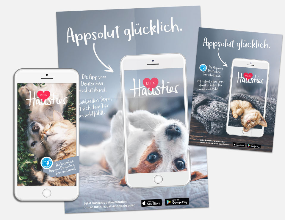 App für Deutschen Tierschutzbund ausgezeichnet