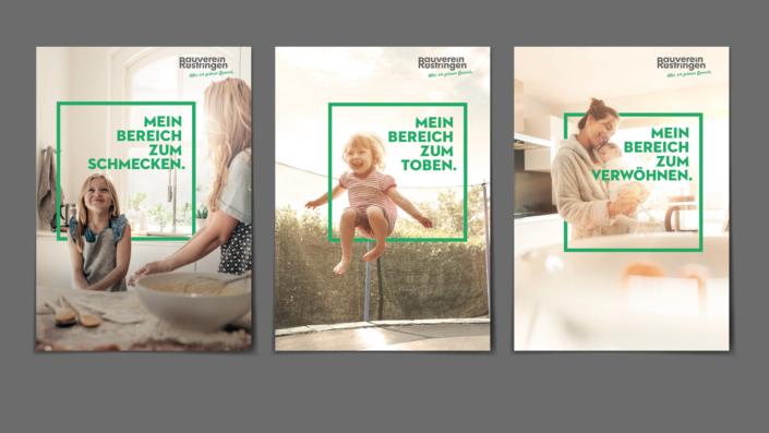 Imagemotive – Markenrelaunch Bauverein Rüstringen