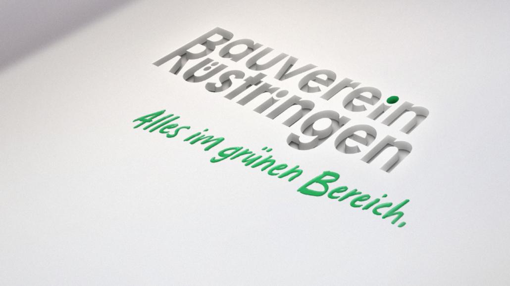 Logo – Markenrelaunch Bauverein Rüstringen