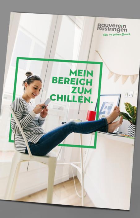 Plakat – Markenrelaunch Bauverein Rüstringen