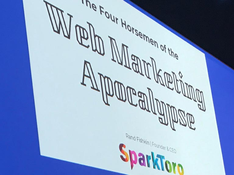 Rand Fishkin - SparkToro - Keynote - SMX München