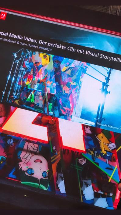 Social Media - Visual Storytelling - Adobe Masterclass - OMR2019