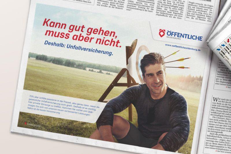 Printanzeigen – Tageszeitung – Agentur Frese & Wolff