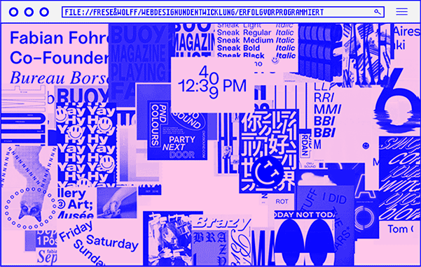 Webdesign & Entwicklung - Frese & Wolff - Webbrowser