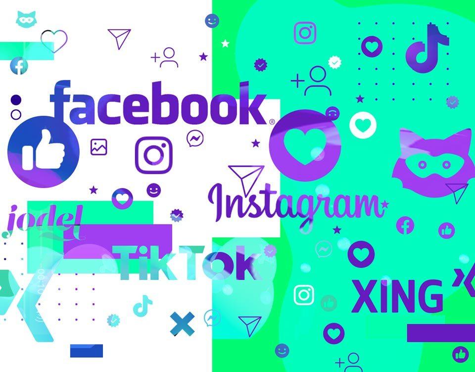 Werben auf Facebook, Instagram, Jodel und Co.