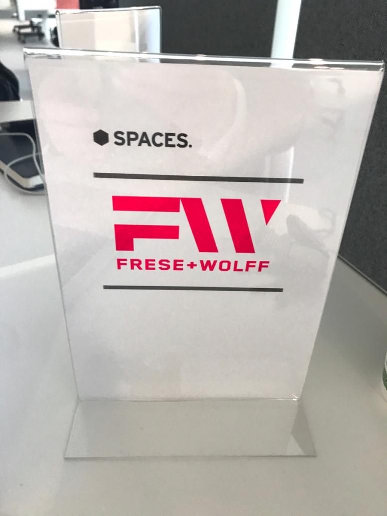 Werbeagentur - Frese & Wolff - Bremen - Spaces - Aufsteller