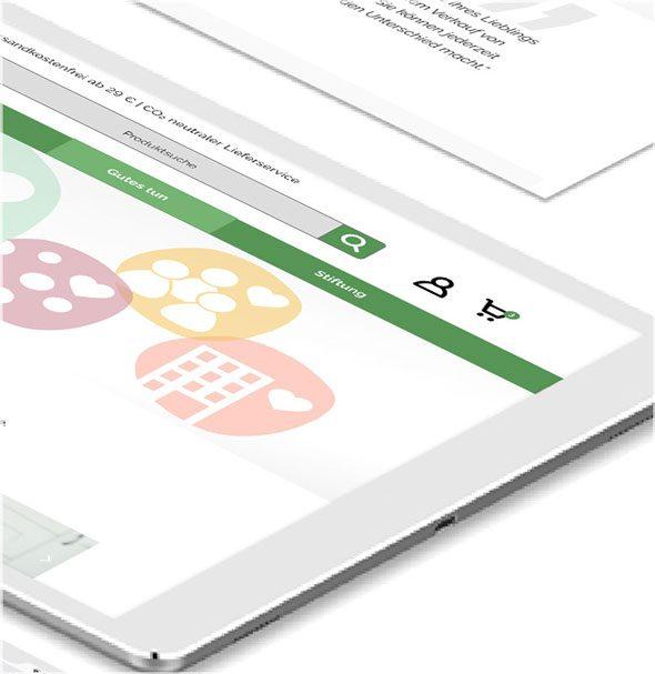 Shopware Onlineshop-Optimierung - Tierschutzliga - iPad