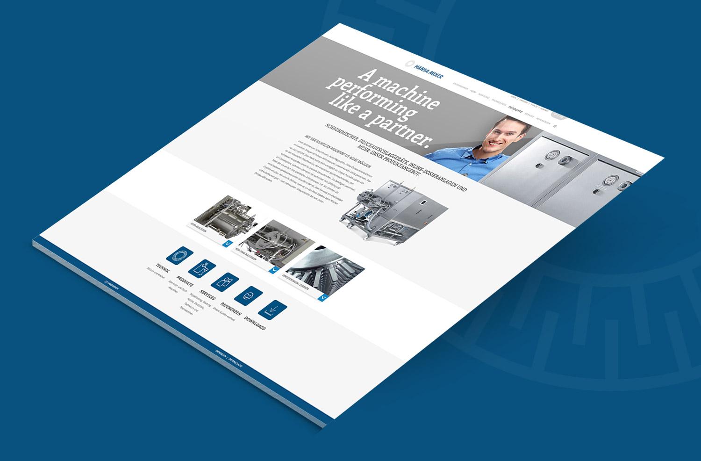 Markenauftritt Website Optimierung Hansa Mixer