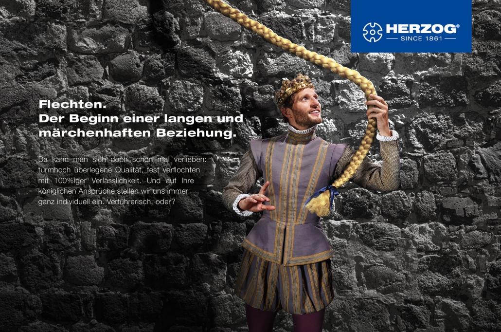 Kampagnenentwicklung Herzog Motiv Beziehung