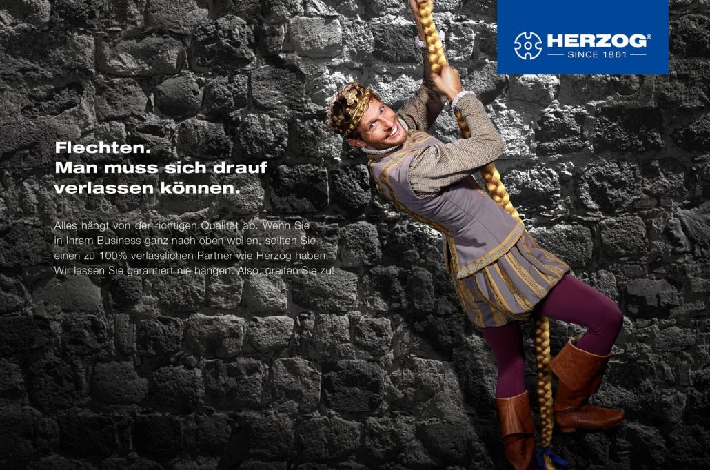 Kampagnenentwicklung Herzog Motiv Verlässlichkeit