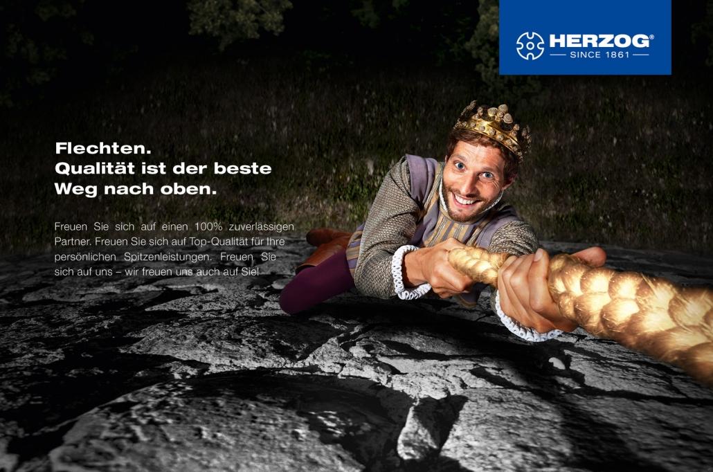 Kampagnenentwicklung Herzog Motiv Qualität