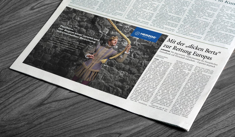Kampagne für Herzog | Frese & Wolff