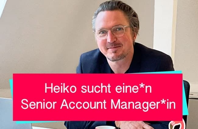 Senior Account Manager - WMD gesucht