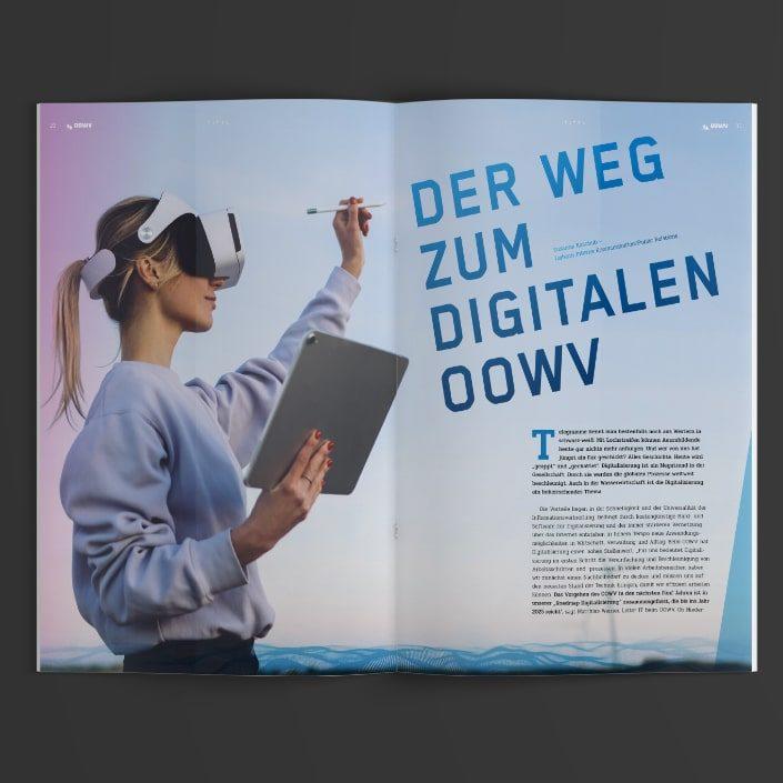 OOWV Mitarbeitermagazin Digitalisierung
